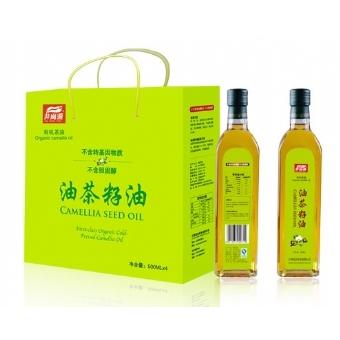 井岗源有机山茶油(江南系列)4瓶装