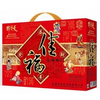 天福号熟食礼盒 佳福礼盒 1000g