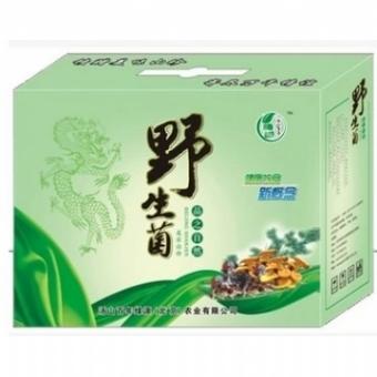 野生干菌礼盒组合A4款 菜源生鲜干菌蘑菇礼盒