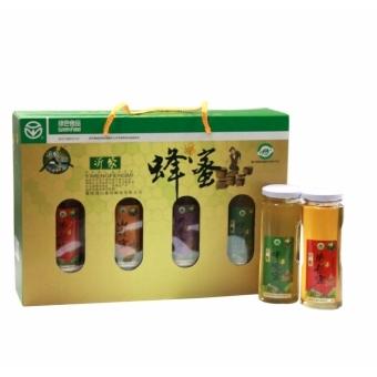 山东特产 沂蒙蜂蜜4瓶礼盒装