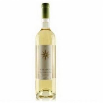 西班牙原瓶进口干白葡萄酒北极星半甜白葡萄酒750ml赤霞珠 VDLT级