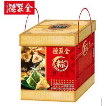 聚情礼盒1420g全聚德粽子