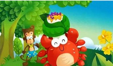 经典童话故事 猴子与螃蟹