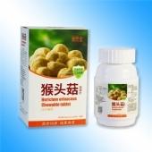康民堂猴头菇咀嚼片100片健康营养食品猴头菌菇片一件代发