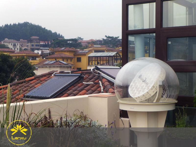 纤维照明系统—深圳曦城别墅