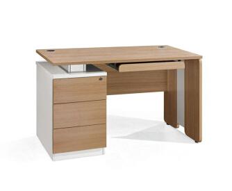 单人位板式办公桌