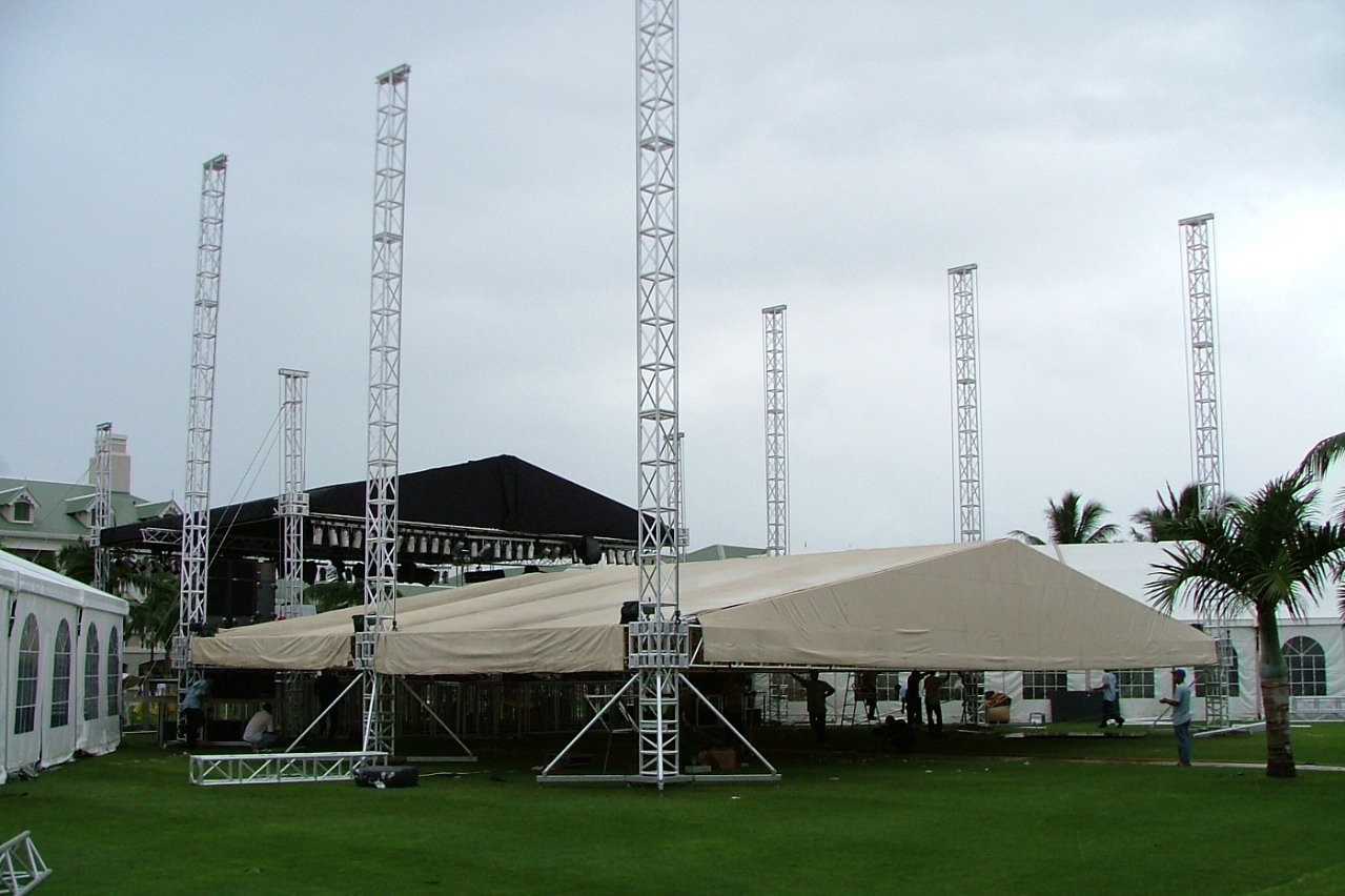 TRUSS架 灯光架 舞台搭建 灯光设备租赁