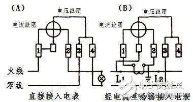 单相电表互感器的作用_单相电能表工作原理_单相电表接线方法