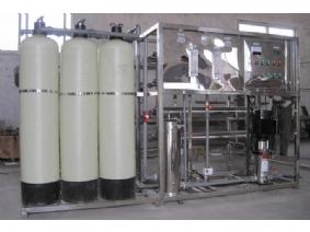 1T/h一级反渗透纯水设备