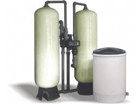 10吨/小时一用一备软化水设备