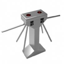 立式双机芯三辊闸ZC301-2