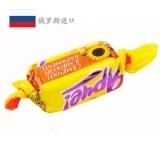 俄罗斯进口糖果香甜果仁酥夹心巧克力糖花生软糖批发