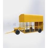 机轮运输车