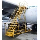 A330发动机机背工作梯