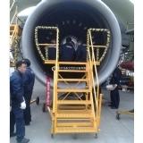 A330发动机进气道工作梯