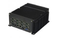 10串口低功耗工控机JBOX-GM45C10