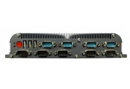 14串口无风扇工控机YJBOX-D525C14