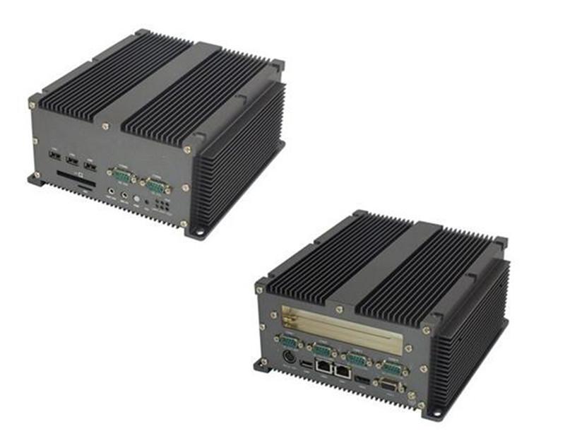 6串口1个PCI扩展槽无风扇工控机