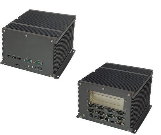 10串口 2个PCI扩展槽无风扇工控机