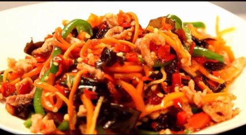 加盟卤菜的做法熟食实体店配方培训鱼香肉丝家常做法