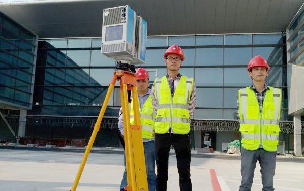 三维激光扫描在异形幕墙精确安装测量应用