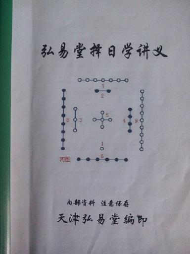 《弘易堂择日学讲义》高级风水班学员参考资料---于老师编写