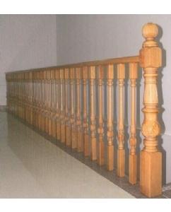 西安实木护栏
