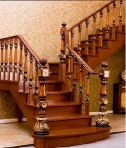 尚仟实木楼梯