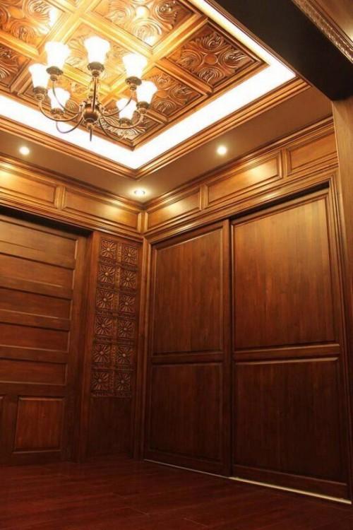 尚仟实木护墙板