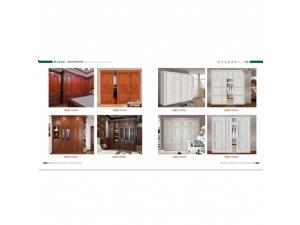 原木系列—长沙衣柜定制