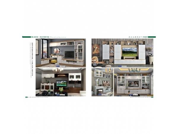 板式系列—长沙定制电视柜