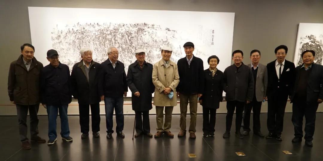 笔谭——程大利水墨作品展在北京画院美术馆开幕