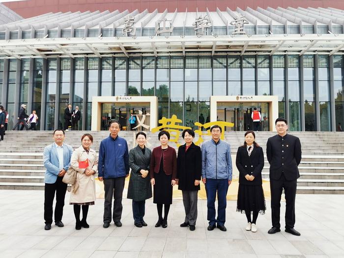 黄河文化主题艺术沙龙第二场在郑州师范学院嵩山学堂上演