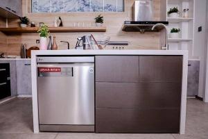 LG 100℃蒸汽洗碗机健康生活必入!