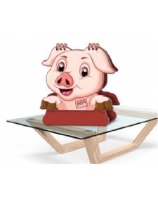 台历制作-幸运猪年